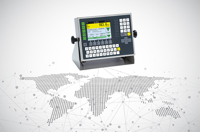 SysTec weighing indicators offer numerous connection options