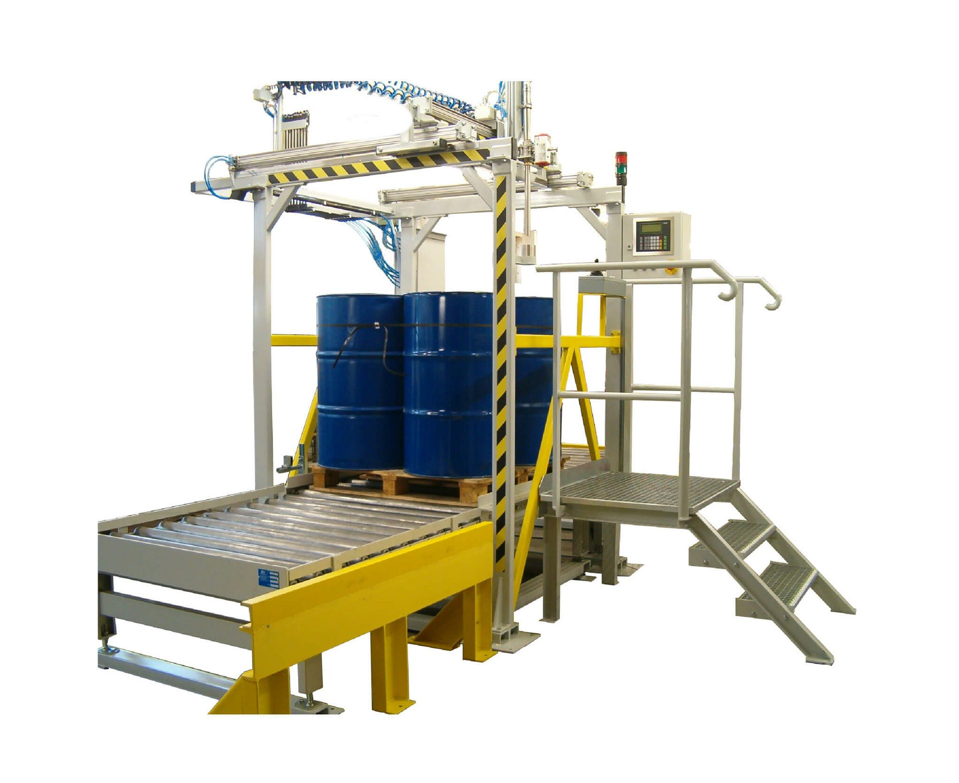 SysTec weighing terminals for liquid filling / barrel filling